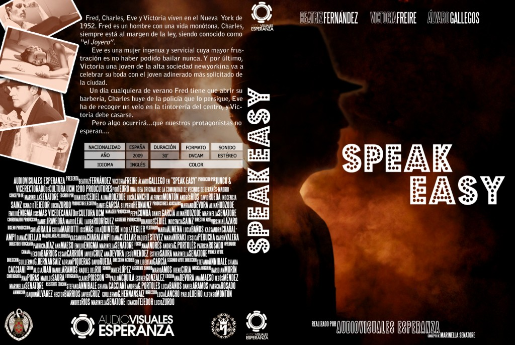 Caratula DVD Speak Easy 1024x686 Caratulista de Speak Easy