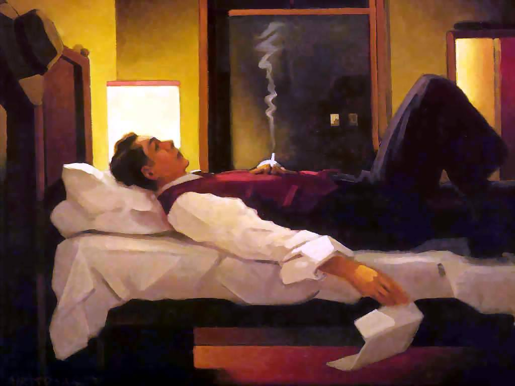 Heartbreak Hotel by Jack Vettriano