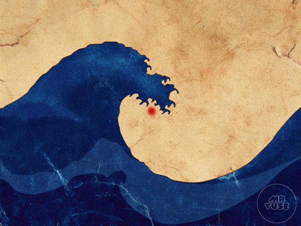 HokusaiRevisited Japón