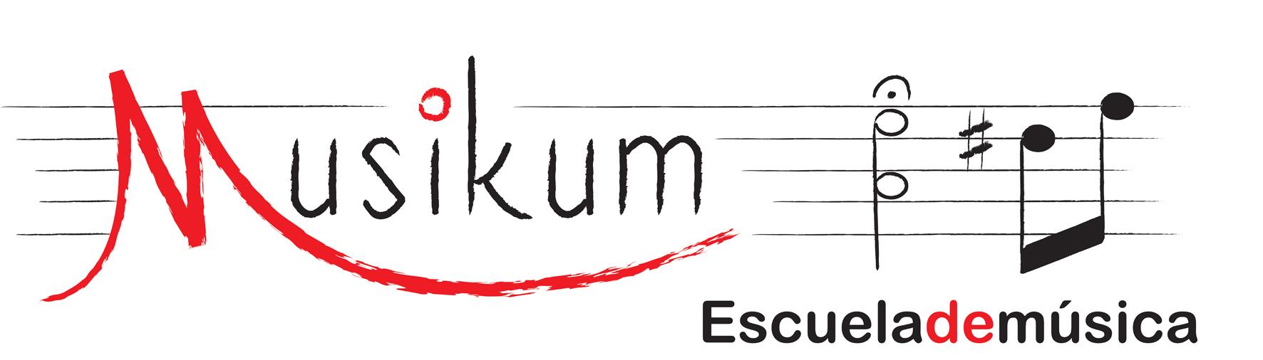 MUSIKUM sobre blanco 1 pq Musikum, escuela de musica