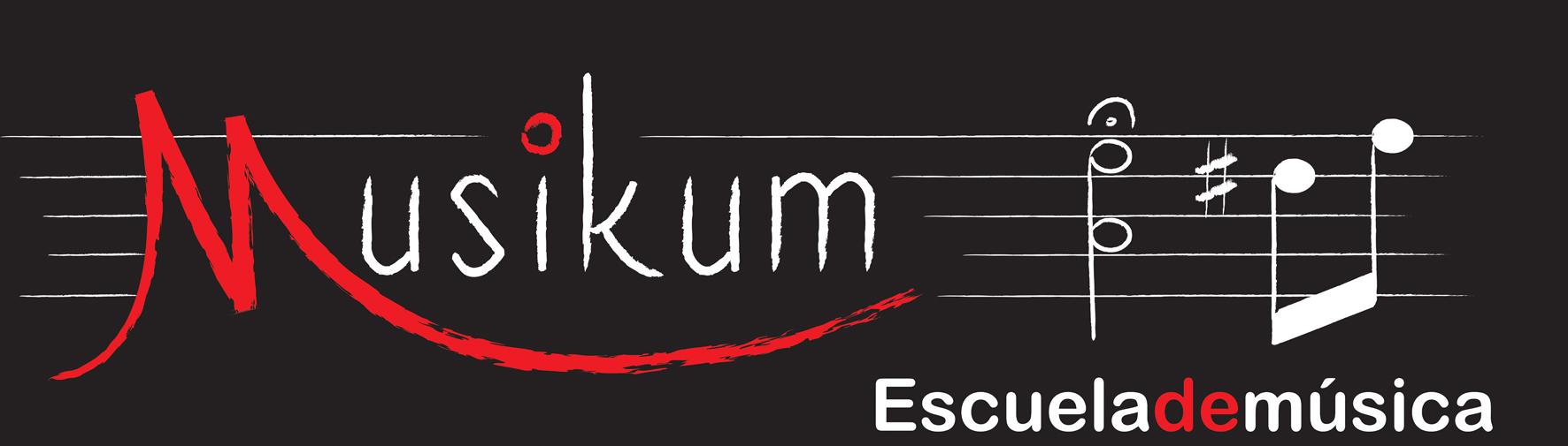 MUSIKUM sobre negro 1 pq Musikum, escuela de musica