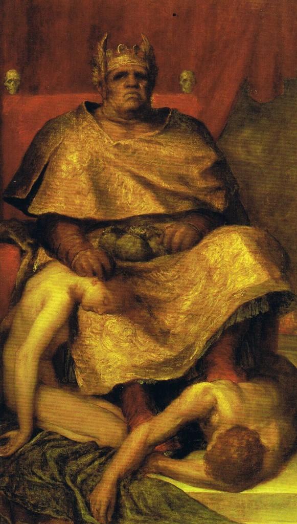 Mammon G.F.Watts  581x1024 La esperanza y el gran mamón