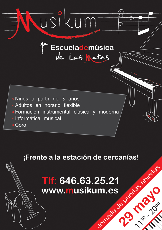 Octavillas Musikum 1 Musikum, escuela de musica